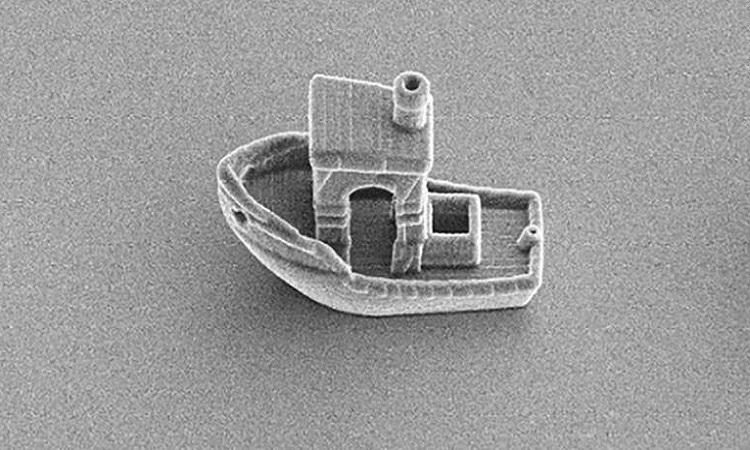 Thuyền in 3D nhỏ nhất thế giới