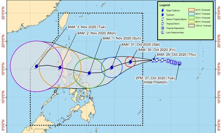 Philippines sắp đón thêm hai cơn bão