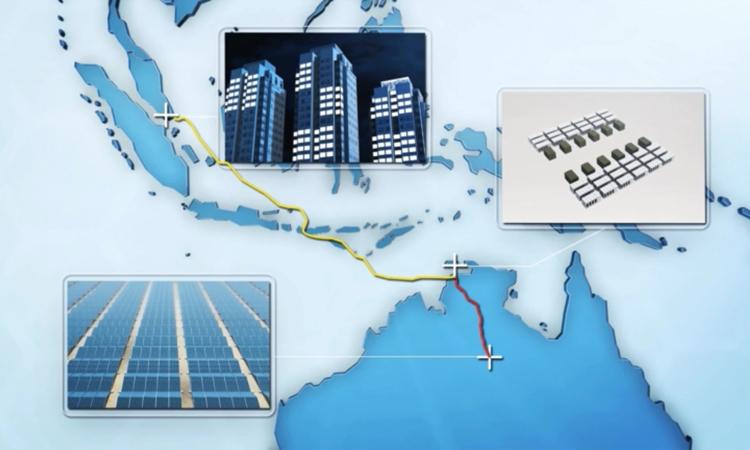 Xây trang trại điện mặt trời rộng bằng 20.000 sân bóng