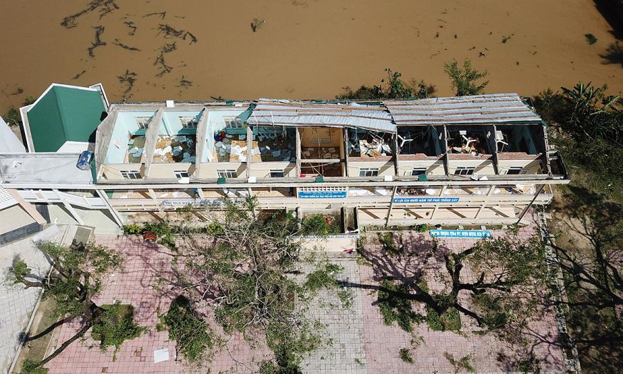 Ngành giáo dục thiệt hại hơn 600 tỷ đồng do bão lũ