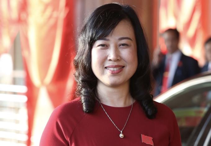 Bà Đào Hồng Lan, Bí thư Tỉnh uỷ Bắc Ninh. Ảnh: Hoàng Phong