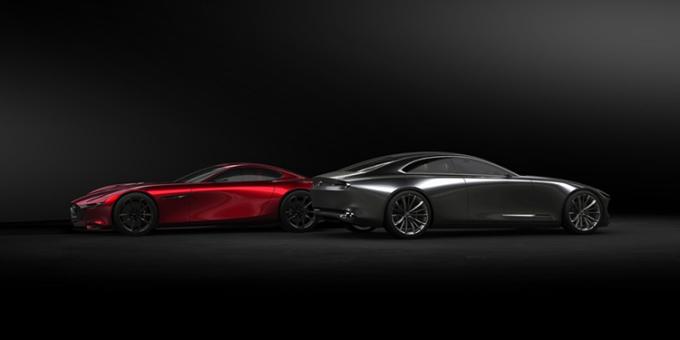 Hai mẫu xe ý tưởng của Mazda.