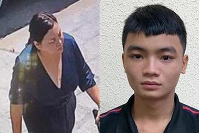Linh, Phương có vai trò chính trong việc truy sát Quân xa lộ. Ảnh: Công an cung cấp.