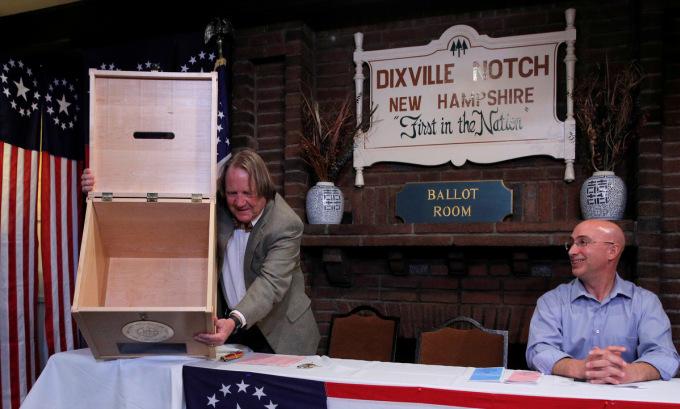 Điểm bầu cử chính thức đầu tiên sắp mở cửa tại Mỹ