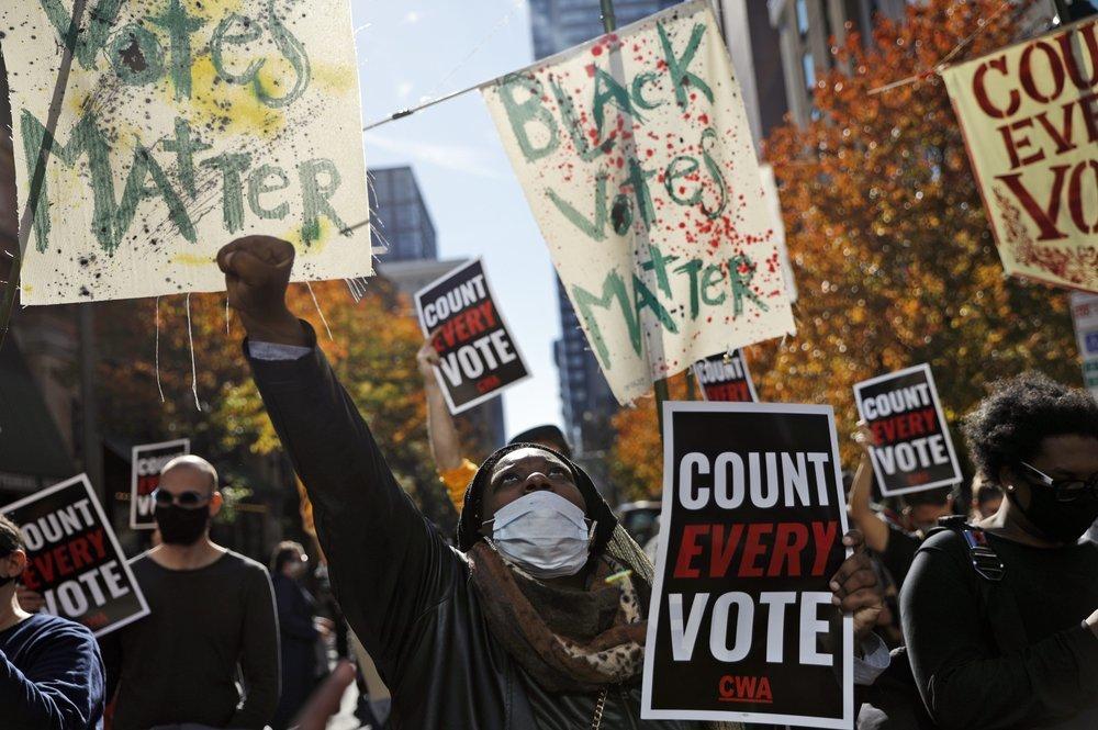 Nước Mỹ mòn mỏi chờ kết quả bầu cử