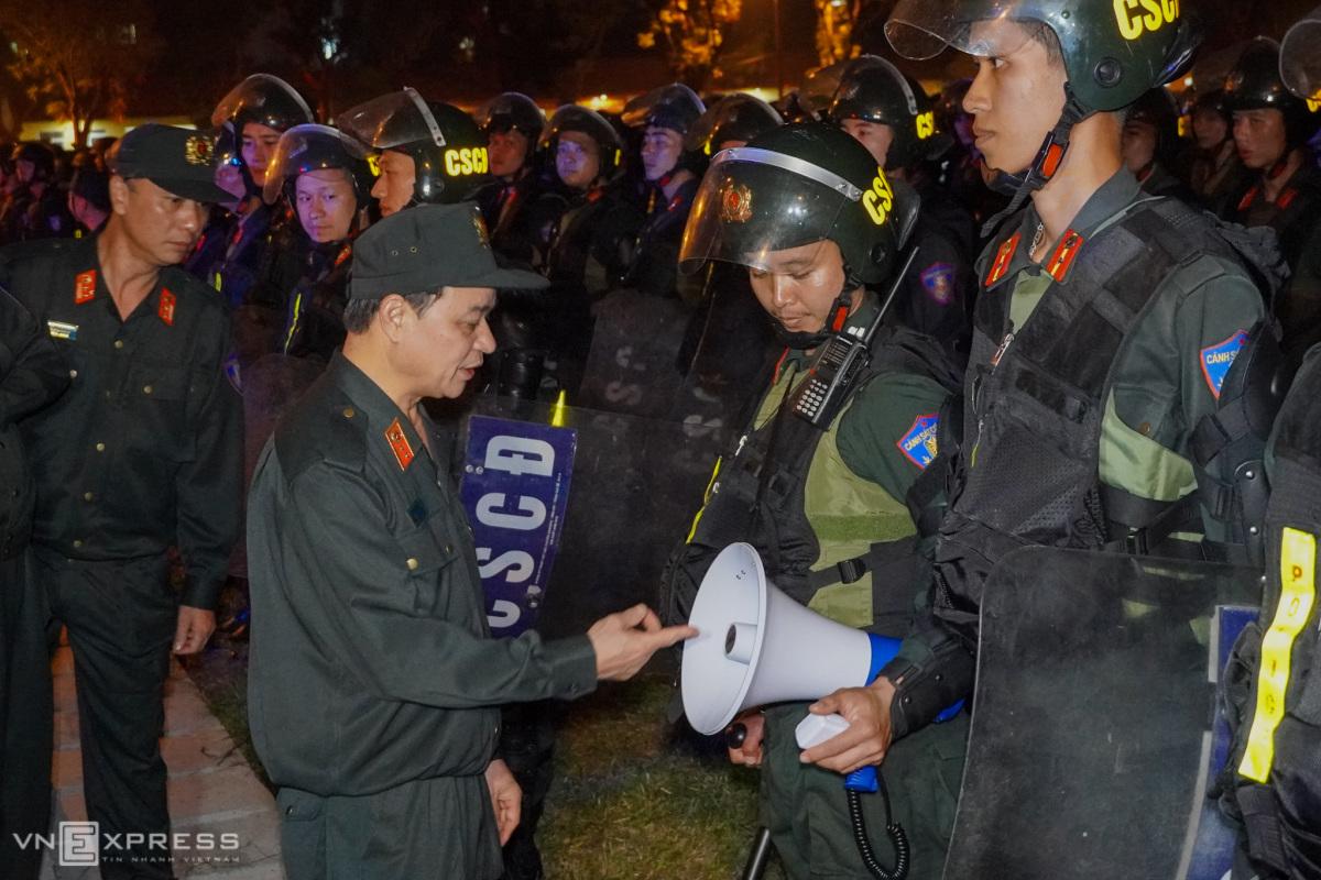 Cảnh sát đặc nhiệm bảo vệ hội nghị ASEAN