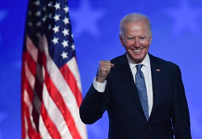Joe Biden phát biểu sau khi đắc cử tổng thống
