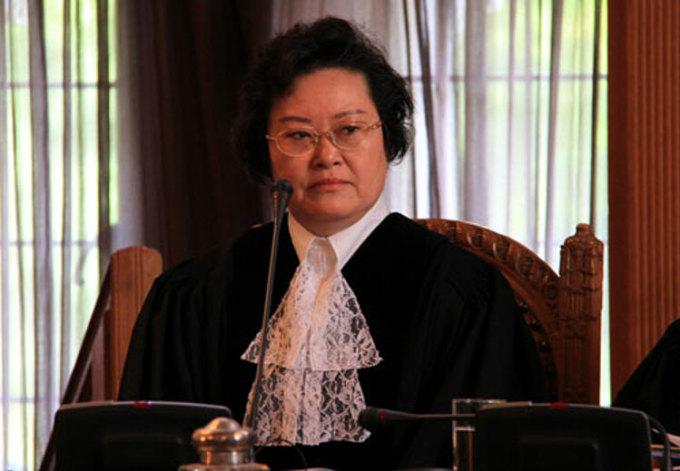 Thẩm phán Trung Quốc Tiết Hãn Cầu tại ICJ năm 2010. Ảnh: ICJ.