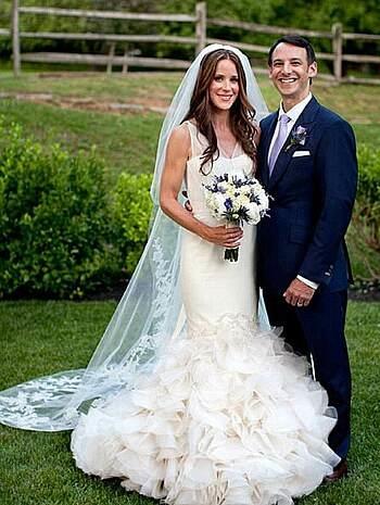 Ashley và Howard Kerin kết hôn tại Delaware năm 2012. Ảnh: Nhà Trắng.