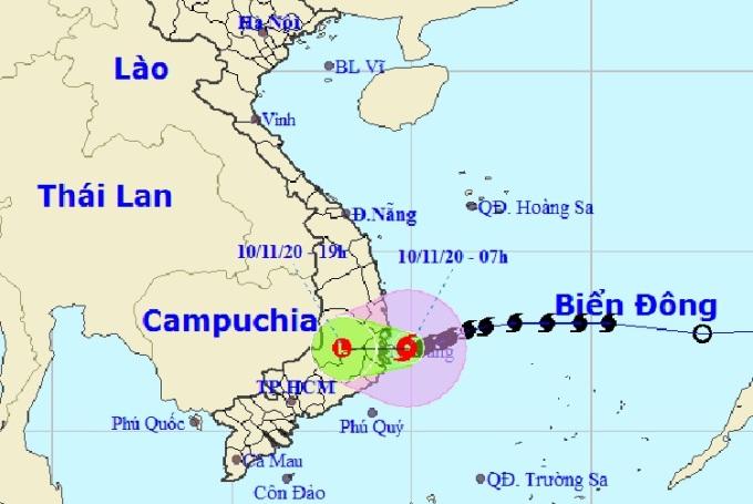 Bão Etau sắp đổ bộ Khánh Hòa - Phú Yên