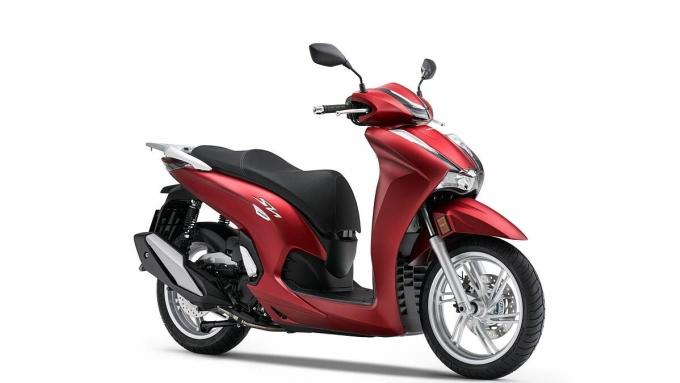 SH350i 2021 ra mắt thị trường châu Âu. Ảnh: Honda