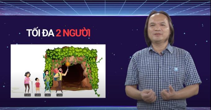 Thầy Trần Phương, Hệ thống Giáo dục HOCMAI phân tích về hai phương án giải bài toán đi qua hầm tối và chỉ ra cách giải tối ưu nhất.