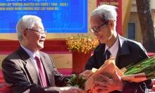 Tổng bí thư Nguyễn Phú Trọng về lại trường xưa