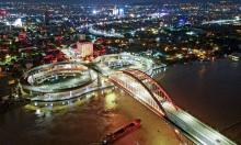 Những cây cầu ở Hải Phòng về đêm