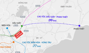 Thi công hai gói thầu cao tốc Dầu Giây - Phan Thiết