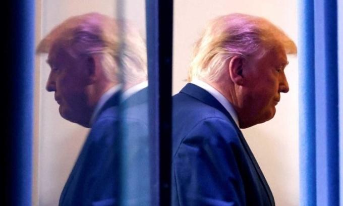 Tổng thống Donald Trump tại Nhà Trắng ngày 5/11. Ảnh: Reuters.