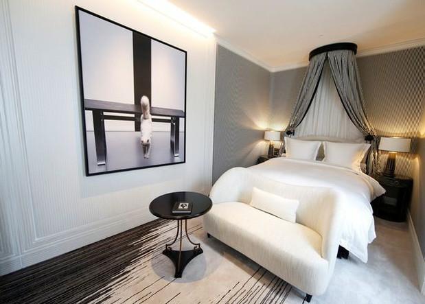Căn phòng mà ông chủ Karl Lagerfeld thiết kế riêng cho nàng.