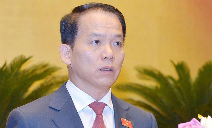 Ông Hoàng Thanh Tùng, Chủ nhiệm Ủy ban Pháp luật. Ảnh: Trung tâm báo chí Quốc hội