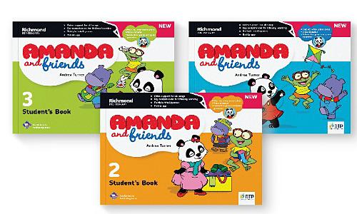 Bộ sách Amanda & Friends giúp trẻ làm quen với Tiếng Anh