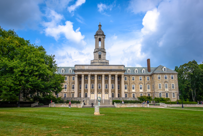 Đại học Pennsylvania. Ảnh: Shutterstock