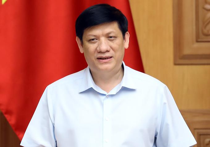 Bộ trưởng Y tế Nguyễn Thanh Long. Ảnh: Đình Nam