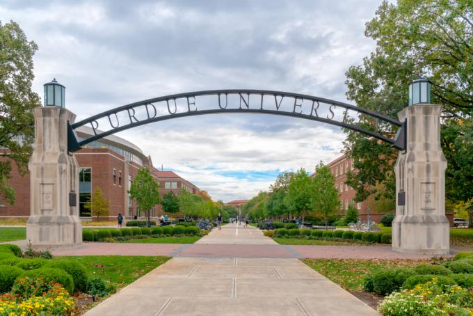 Đại học Purdue. Ảnh: Shutterstock
