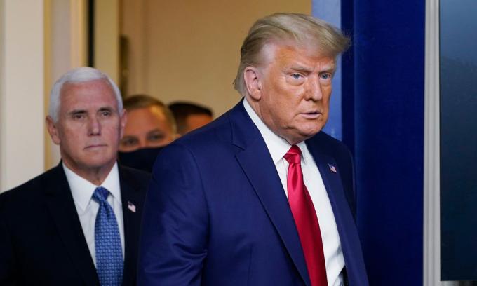 Tổng thống Donald Trump tại Nhà Trắng hôm 24/11. Ảnh: AP.
