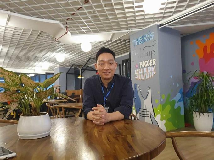 Ông Paek Seungwoo, Trưởng chi nhánh Mathpresso Việt Nam – đơn vị quản lý chia sẻ về chặng đường một năm của Qanda tại Việt Nam.