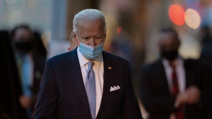 Tổng thống đắc cử Biden ở Wilmington, bang Delaware hôm 24/11. Ảnh: AP.