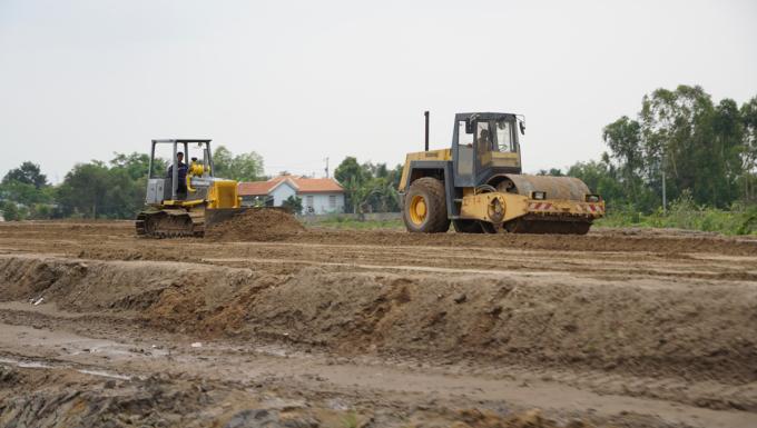 Cao tốc Trung Lương - Mỹ Thuận sẽ thông tuyến trong dịp Tết Nguyên Đán. Ảnh: Hoàng Nam