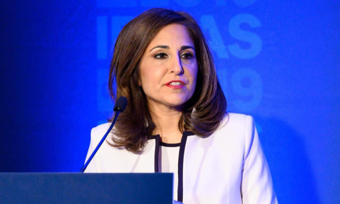 Neera Tanden, người được đề cử vị trí giám đốc Văn phòng Quản lý Ngân sách của Mỹ. Ảnh: AP.