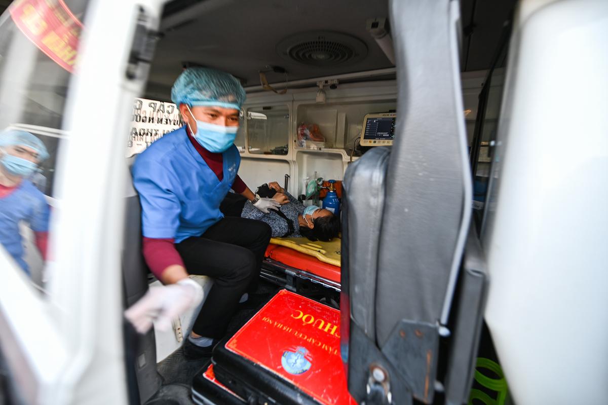 Diễn tập cứu hộ trên đường sắt Cát Linh - Hà Đông