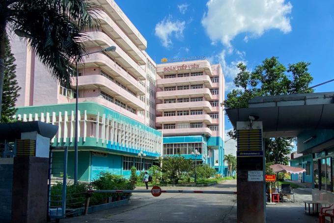 Khu cách ly riêng của Vietnam Airlines trong trụ sở ở đường Hồng Hà, quận Tân Bình. Ảnh: Hữu Khoa.