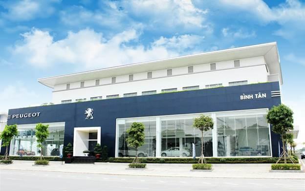 Một showroom tiêu biểu của Peugeot tại Việt Nam. Ảnh: Peugeot Việt Nam.