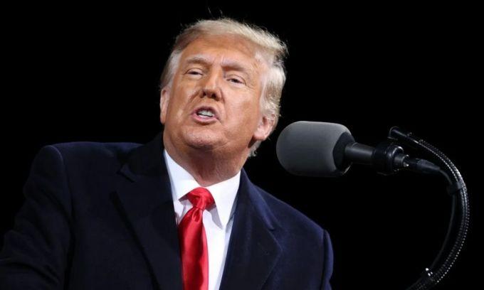 Tổng thống Trump phát biểu tại Georgia ngày 5/12. Ảnh: Reuters.