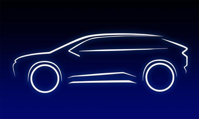 Mẫu SUV chạy điện của Toyota lộ diện. Ảnh: Toyota
