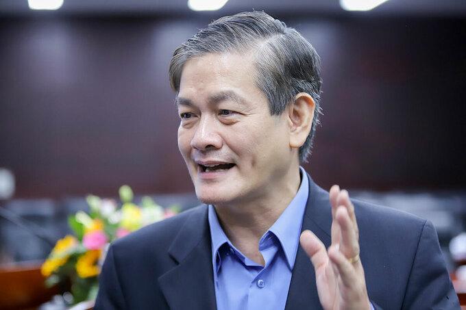 Kiến trúc sư Ngô Viết Nam Sơn. Ảnh: Nguyễn Đông