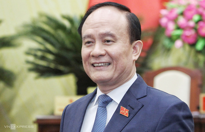 Tân Chủ tịch HĐND TP Hà Nội Nguyễn Ngọc Tuấn. Ảnh: Giang Huy