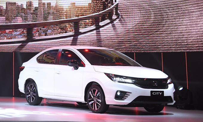 Honda City thế hệ thứ 5 ra mắt trực tuyến tại Việt Nam.