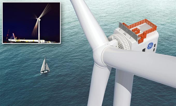 Mỹ lắp đặt trại điện gió ngoài khơi mạnh nhất thế giới