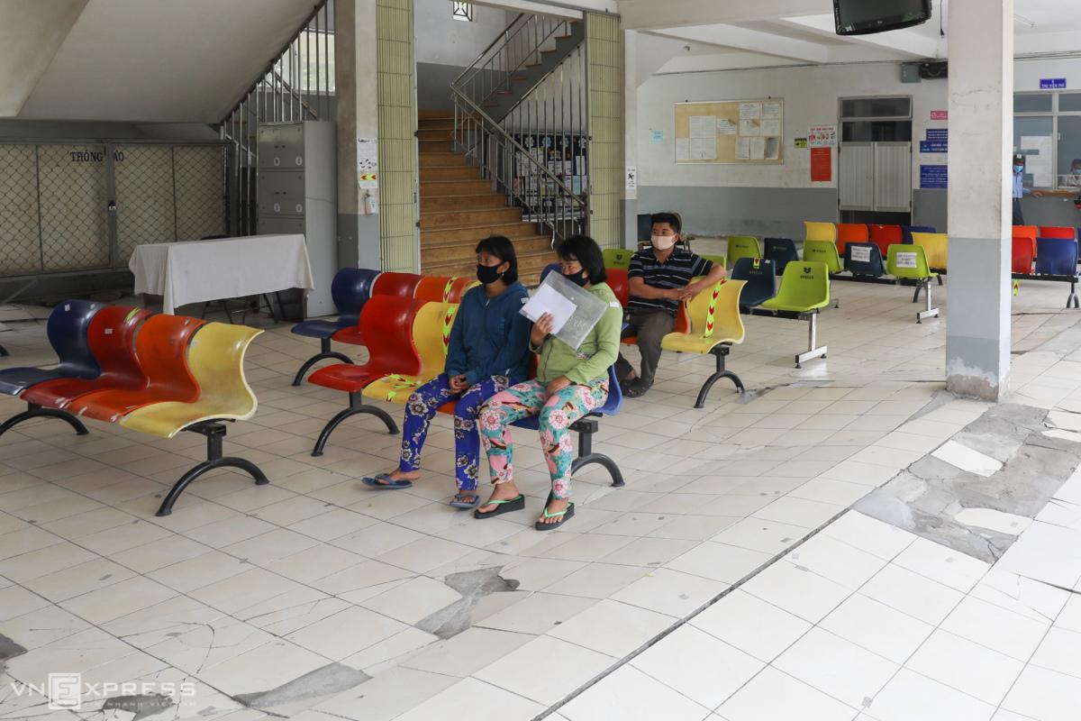 Bệnh viện Tâm thần ở TP HCM sụt lún