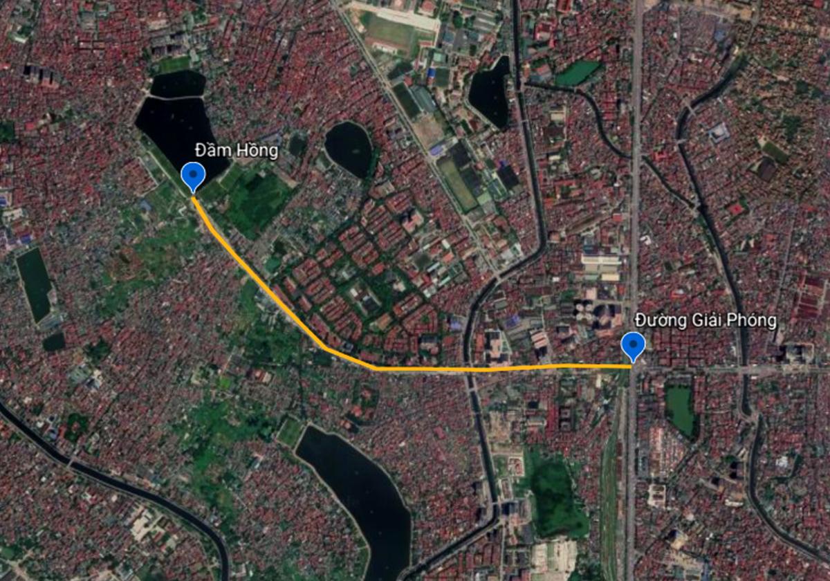 Đường 2 km ở Hà Nội gần 20 năm làm chưa xong