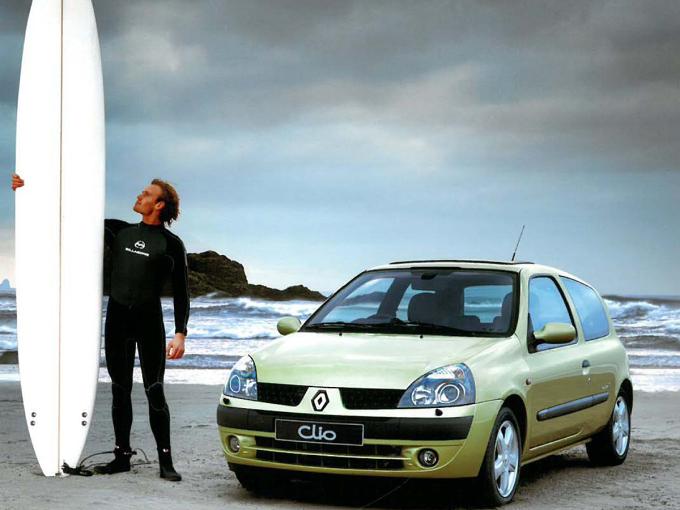 Renault Clio - ôtô biểu tượng của người Pháp - 2