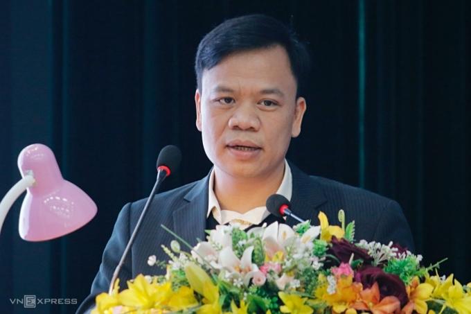 Ông Nguyễn Thế Trung, Tổng giám đốc Công ty Cổ phần Công nghệ DTT. Ảnh: Thanh Hằng