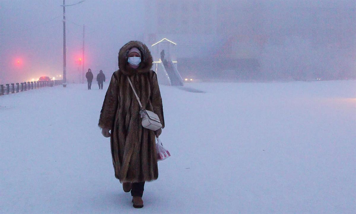 Cuộc sống tại thành phố lạnh nhất thế giới