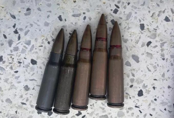 Các viên đạn M60 còn mới. Ảnh: Nam An