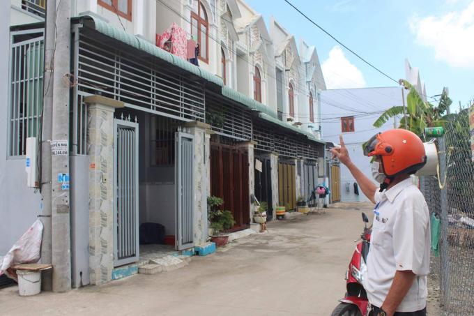 Nhiều căn nhà được cho xây dựng trái phép tại phường An Hòa. Ảnh: Phước Tuấn