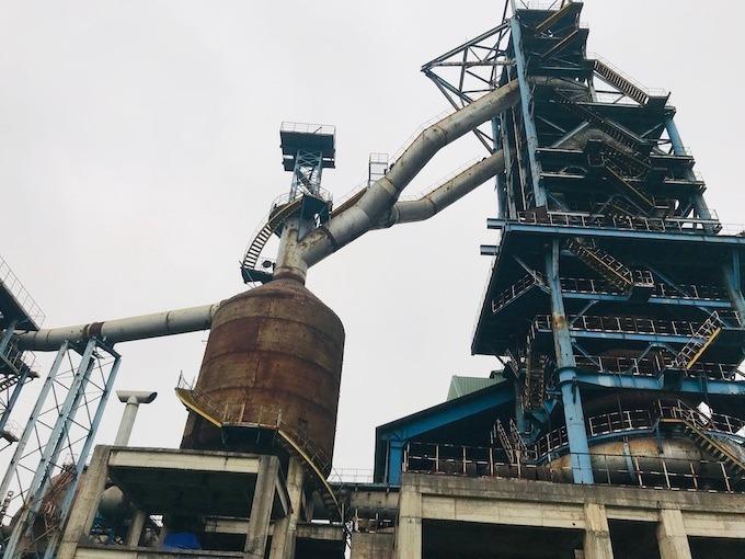 Khu nhà máy sản xuất giai đoạn 2 được xây dựng dở dang bỏ không nhiều năm. Ảnh: Kỳ Duyên