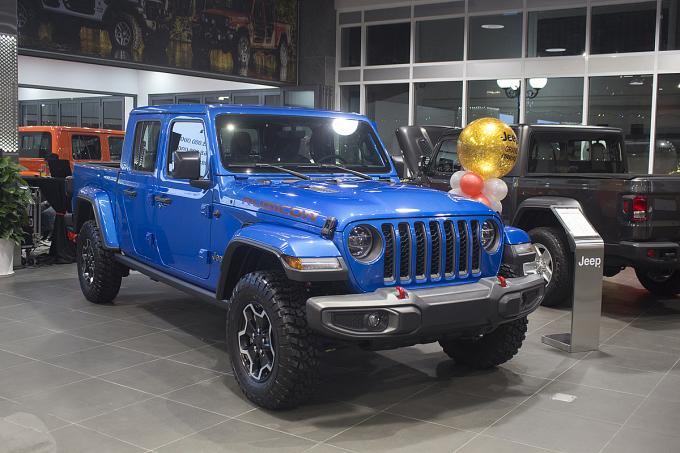 Bản tải Jeep Gladiator.