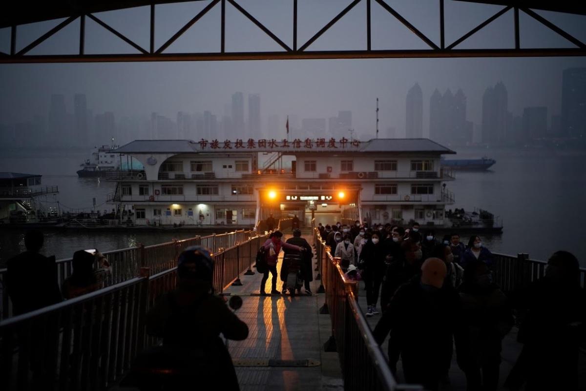 Đêm sôi động ở Vũ Hán một năm sau đại dịch